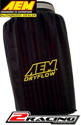 """AEM převlek vzduchového filtru základna 6"""" , top 5,25"""" , výška 9"""" 1-4001"""