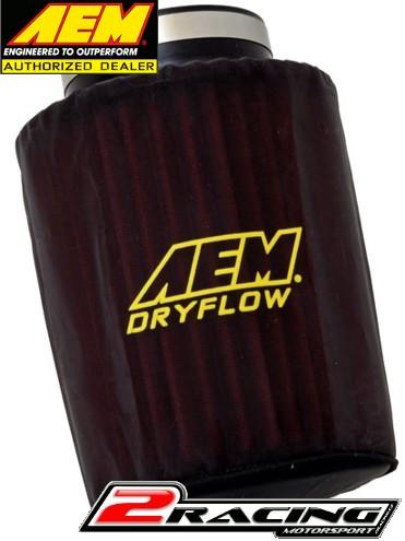 """AEM převlek vzduchového filtru základna 6"""" , top 5-1/8"""" ,  výška 7-1/8"""" 1-4007"""