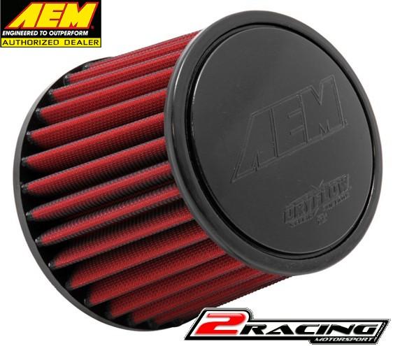 AEM uni sportovní vzduchový filtr vstup 57 mm, výška 127 mm 21-200DK