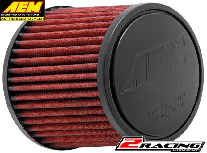 AEM uni sportovní vzduchový filtr vstup 63 mm, výška 127 mm 21-2011DK