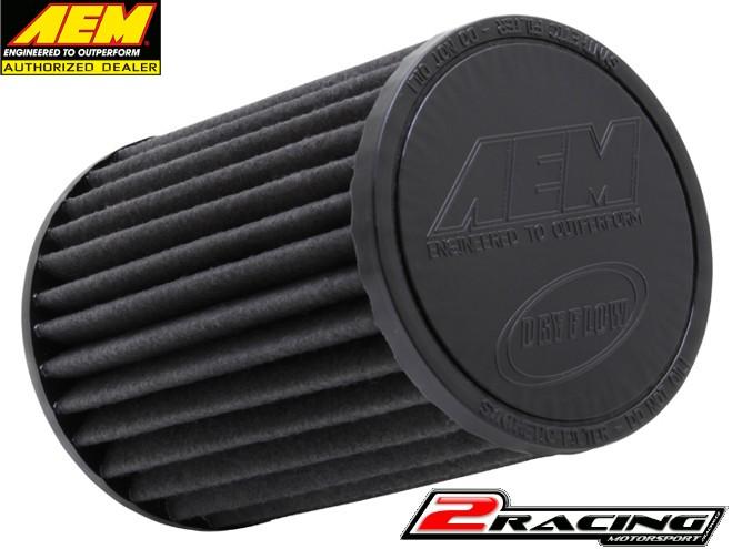 AEM uni sportovní vzduchový filtr vstup 102 mm, výška 178 mm Brute Force 21-2057BF