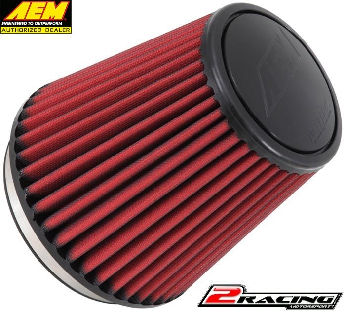 AEM uni sportovní vzduchový filtr vstup 152 mm, výška 178 mm 21-2097DK
