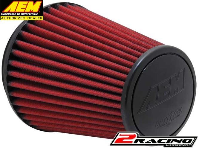 AEM uni sportovní vzduchový filtr vstup 152 mm, výška 203 mm 21-2100DK