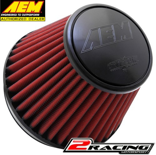 AEM uni sportovní vzduchový filtr vstup 152 mm, výška 152 mm 21-210EDK