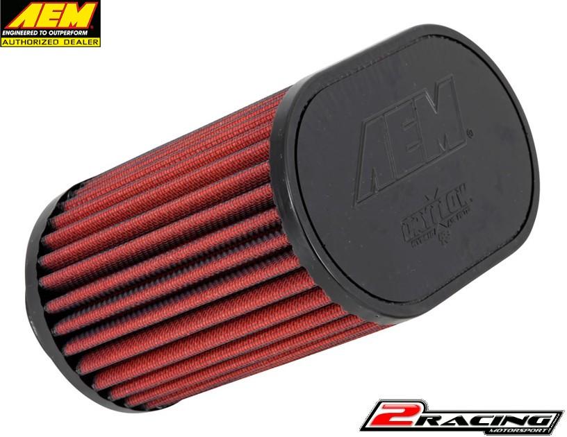 AEM uni sportovní vzduchový filtr vstup 51 mm, výška 159 mm 21-2201DK