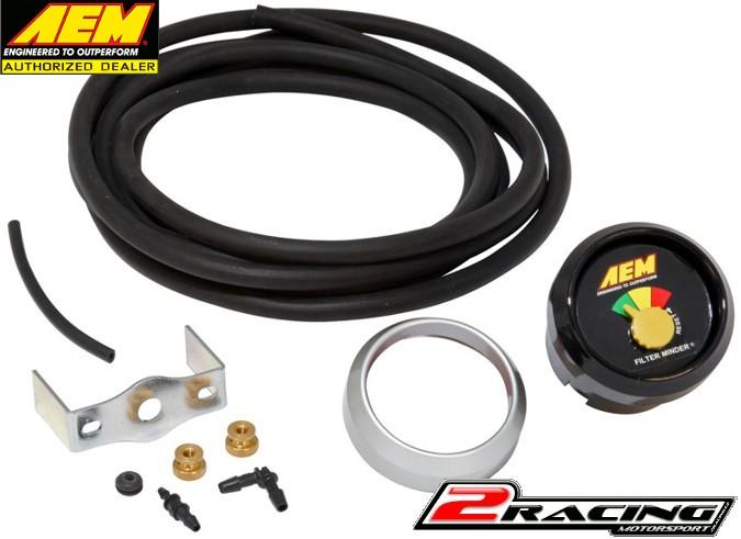 AEM indikátor zanesení sportovního filtru 30-5110