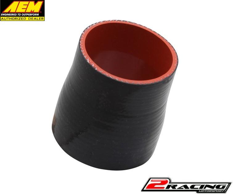 """AEM černá silikonová hadice redukce průměru 2.50/2.75"""" X 3"""" 5-254"""