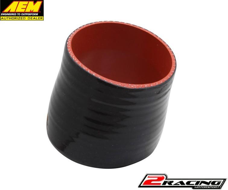 """AEM černá silikonová hadice redukce průměru 3.00/3.25"""" X 3"""" 5-320"""