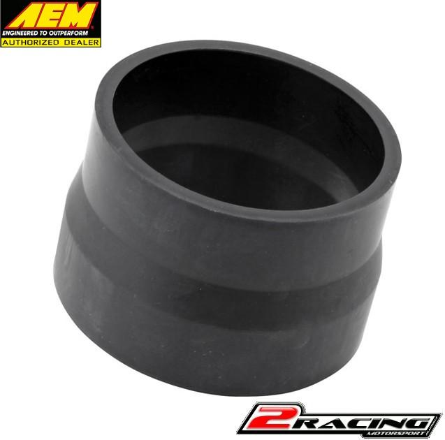 """AEM černá silikonová hadice redukce průměru 3.50/3.25"""" X 2.50"""" 5-352"""