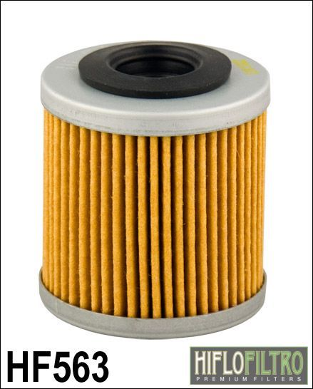 Olejový filtr HiFlo Derbi 125 Mulhacen 4T rok 07-12 HF563
