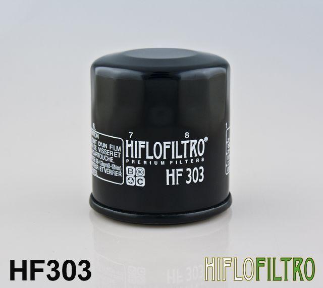 Olejový filtr HiFlo Kawasaki ER-6f C9F,D9F,CAF,DAF,CBF,DBF,ECF,FCF (EX650) rok 09-12 HF303