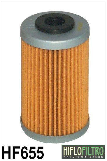 Olejový filtr HiFlo KTM 250 EXC-F Six Days rok 12 HF655