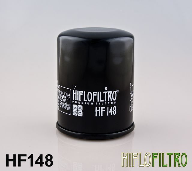 Olejový filtr HiFlo Mercury / Mariner lodní motor FourStroke 40 EFI Jet (4 cyl)1C051324- rok HF148