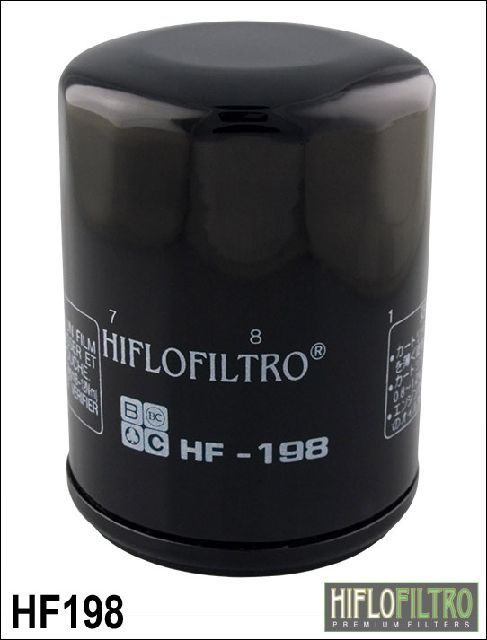 Olejový filtr HiFlo Polaris 800 Ranger RZR 4 EPS LE rok 12-13 HF198