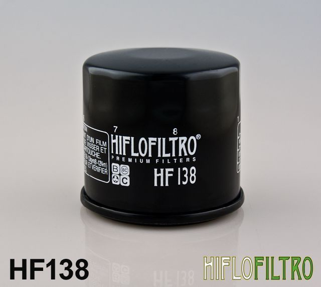Olejový filtr HiFlo SuzukiATV LT-A400 F-K2,K3,K4,K5,K6 Eiger 4x4 Automatic rok 02-07 HF138