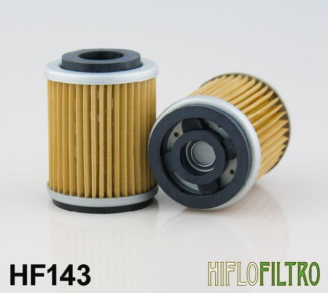 Olejový filtr HiFlo YamahaATV YFB250 F,FWF/G/H/K,H,UH,J,UJ,UK Timberwolf rok 94-99 HF143