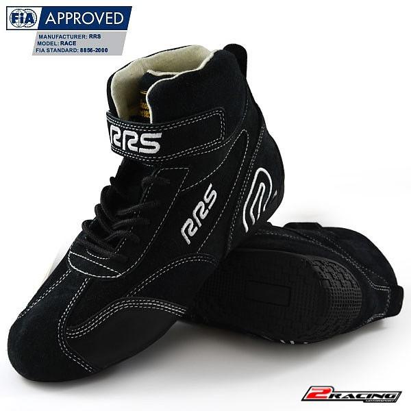 Závodní boty RRS FIA 8856-2000 ČERVENÁ,ČERNÁ