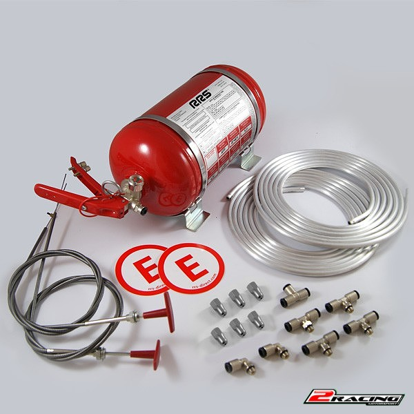 Mechanický hasící systém rallye FIA