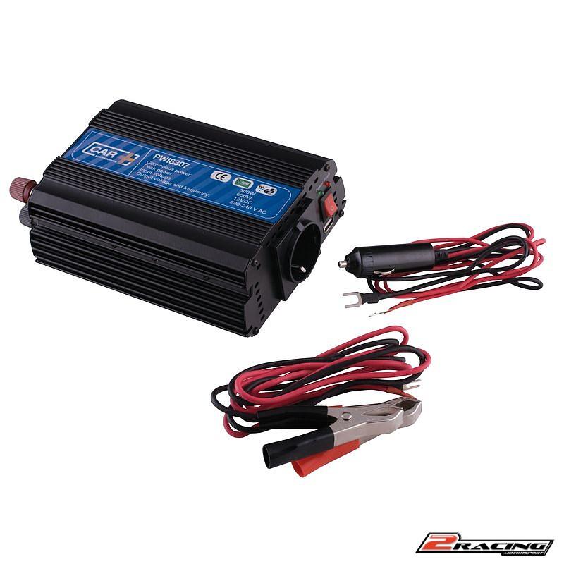 Měnič napětí 12V na 220V 300W top 600W s USB